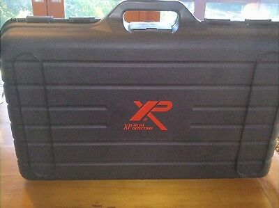 """XP Deus  V4.1 with 11"""" Coil, Remote & FX-02 Headphones in Hard Carry Case."""