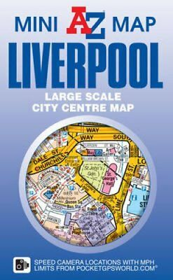 Liverpool Mini Map 9781782571520 (Sheet map, folded, 2016)