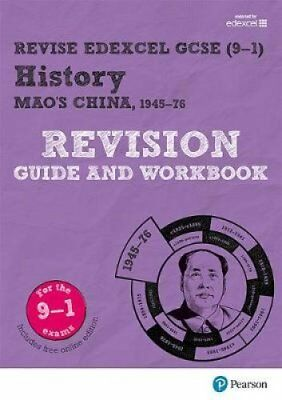 Revise Edexcel GCSE (9-1) History Mao's China Revision Guide and Workbook by...