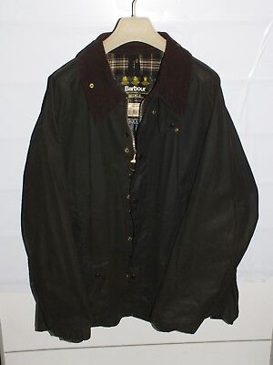 barbour bedale green jacket    jacke waxed cotton c52-132   xxl