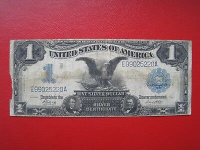 1 Dollar 1899  BLACK EAGLE Silver Certificate