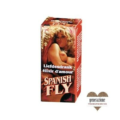 Sex Toys STIMOLANTE SESSUALE SPANISH FLY RED  15 ML