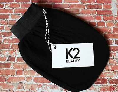 K2 BEAUTY Exfoliating Mitt Tan Eraser Cellulite reduction Exfoliating Glove.