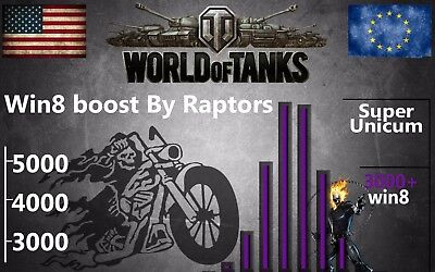World Of Tanks - SUPER UNICUM Stats by Raptor Team ( Not bonus code ) WOT