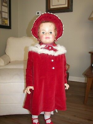 Vintage Patti Playpal size child's coat and hat