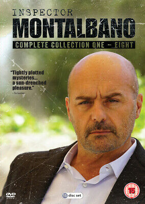 Inspector Montalbano: Collection 1-8 DVD (2018) Luca Zingaretti ***NEW***