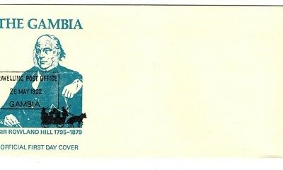 1979 The Gambia - Sir Rowland Hill 1795-1879 Fdc From Collection 4/19