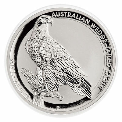 2016 1 oz .999 Fine Silver Australian Wedge Tailed Eagle - Gem Bu