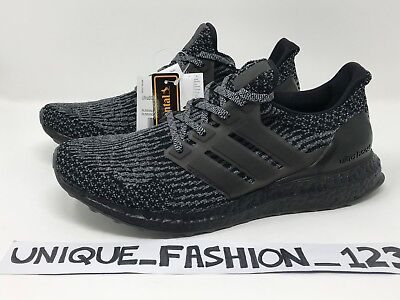 c10b6e099a5 ... spain adidas ultra boost triple black grey 3.0 uk 6 7 8 9 10 11 ba8923
