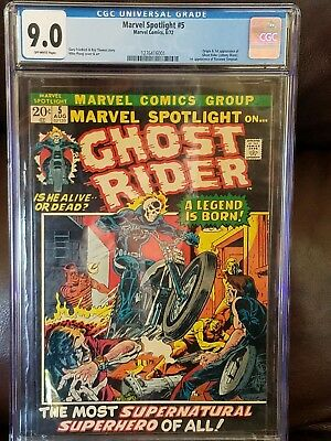 Marvel Spotlight #5 First Ghost Rider Appearance - CGC 9.0 - OW