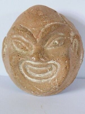 Chinese Antique Pottery Head / Mask