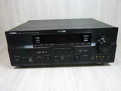 Yamaha Natural Sound AV Receiver RX-V863 Audio Video Home Theater Powers On