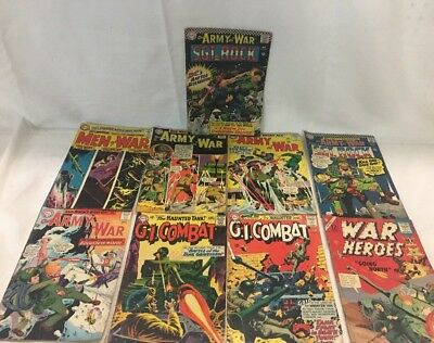 Our Army at War Lot 167 168 Sgt. Rock 1st Unknown Soldier Rare Marvel Comics