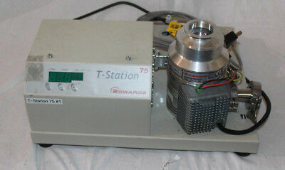 Edwards T-Station Turbo Pumping Station 75 with EXT75DX