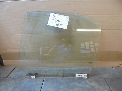 ROVER 400 BUBBLE 45 MG ZS OFFSIDE DRIVERS SIDE FRONT DOOR WINDOW GLASS