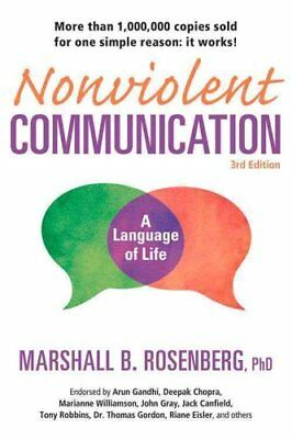 Nonviolent Communication 3rd Ed by Marshall B. Rosenberg 9781892005281