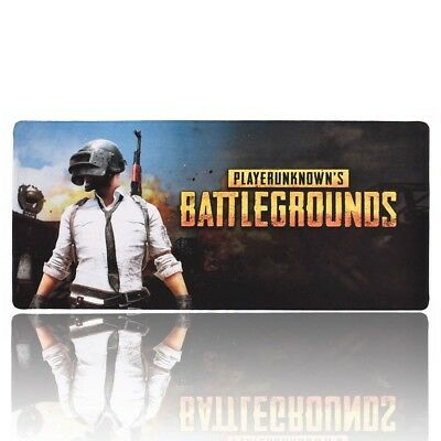 Gaming Large Mouse Pad PUBG Rubber Extended Anti-slip Desk Mat 900 *400*2 mm