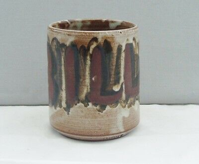 Briglin Studio Pottery Unusual 'bill' Mug