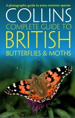 British Butterflies and Moths by Paul Sterry 9780008106119 (Paperback, 2016)