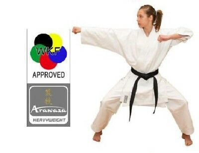 NEW Arawaza HEAVYWEIGHT Adult Karate Suit Gi MARTIAL ARTS 12oz WKF APPROVED