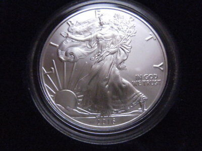 2016 United States Mint Uncirculated One Ounce Silver Eagle