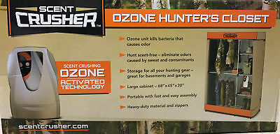 Scent Crusher Portable Ozone 'Hunter's Closet' Scent Elimination Storage - 59801