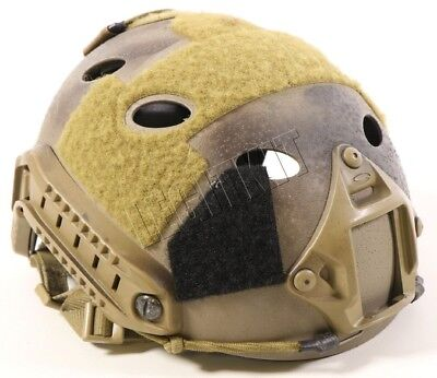 Ops-Core FAST Carbon Helmet Tan w/ VAS Shroud - SMALL/MEDIUM Tan Custom Painted