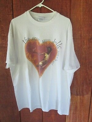 Vintage 1999 Goo Goo Dolls Dizzy Up the Girl Concert Tour T-Shirt Sz XL