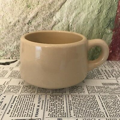 Syracuse China Adobe Ware Tan Colored Restaurant Ware Coffee Cup - 6 Oz
