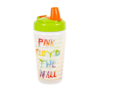 """Daphyls Pink Floyd """"The Wall"""" Insulated Sippy Cup Baby Toddler NEW"""