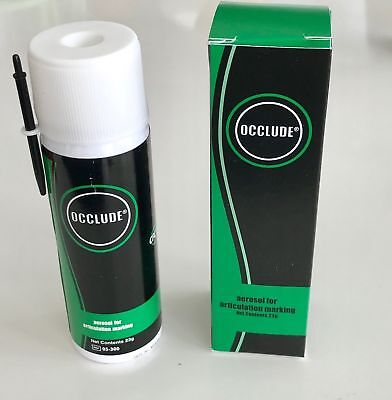 Dental Occlude aerosol  OCCLUSAL indicator powder  GREEN 23g  Pascal