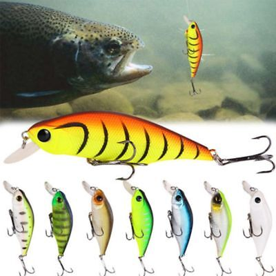 8.5cm 13.4g Crankbait Hard Plastic Bait Bass Tackle Minnow Fishing Lures