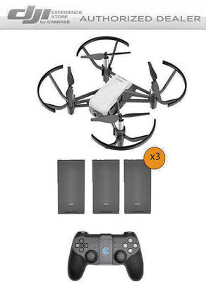 DJI Tello Drone by Ryze Tech Bundle includes 3 Batteries and Remote Controller