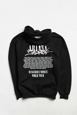 Ariana Grande Dangerous Woman World Tour Urban Outfitters Hoodie NEW WITH TAGS