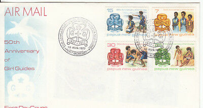 PNG 1977 Girl Guides FDC