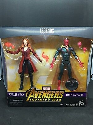Marvel Legends Avengers:Infinity War Scarlet Witch & Vision 2pk (ToysRus Exc)