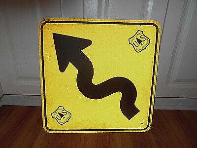 Us Forest Service Department Of Agriculture Metal Reflective Sign~Trail/road