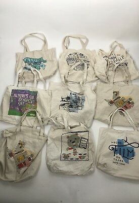 SXSW Canvas Tote Bags Lot Of 9 2000 2013 2015 2016 2017 Music Film Interactive