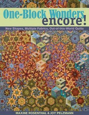 NEW One-block Wonders Encore! By Maxine Rosenthal Paperback Free Shipping