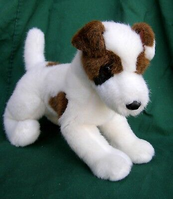 """Sweet Cuddly Airedale Terrier Stuffed Plush Douglas Puppy-15"""" long 11"""" High-Tag"""