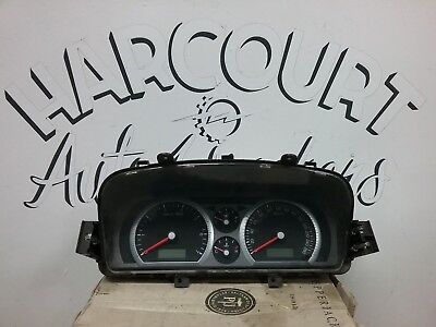 ford falcon ba bf xr6 ute manual dash cluster
