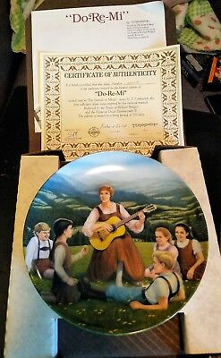 Rodgers and Hammerstein's Sound of Music Collector's Plates Set of 8