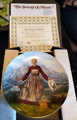 Rogers and Hammerstein's Sound of Music Collector's Plates Set of 8