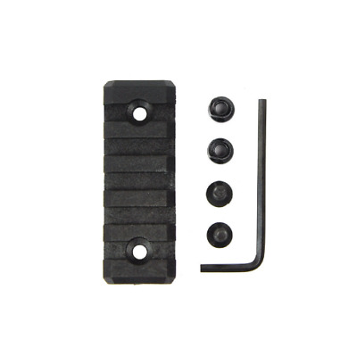 2 inch Keymod 5 Slot Picatinny/Weaver Rail For Handguard Rail Section