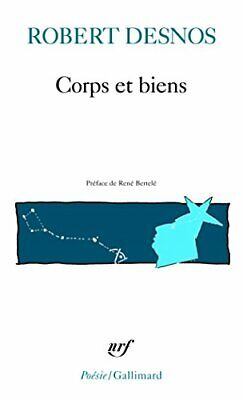 Corps et biens (Collection Pobesie) by Desnos, Robert Book Book The Fast Free