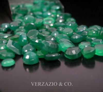 Green Onyx Loose Gem Wholesale Mixed Gemstone Mix Loose Gemstones Lot Onyx Gems