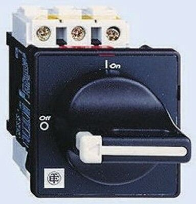 Schneider VCF6 3 Pole Panel Mount Non Fused Isolator Switch, 175 A, 55 kW, IP20
