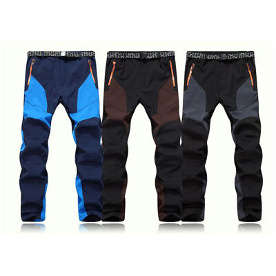 Women Men Warm Snowboard Ski Hiking Climbing Pants Trousers Waterproof 2018