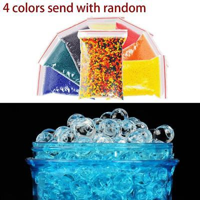 10000Pcs Crystal Soil Plant Water Beads Hydro Gel Pearls Orbeez Spa Refill O55
