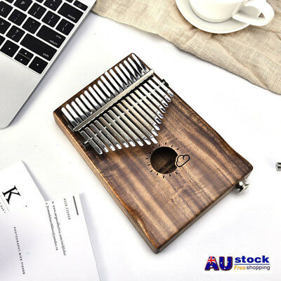 African 17 Keys EQ Kalimba Thumb Piano Link Speaker Electric Pickup Music Gift